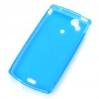 Protective PVC Case Shell for Sony Ericsson Xperia Arc LT15i/X12 - Blue