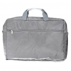 "Protective Nylon Bag with Shoulder Strap for 19"" Laptop Notebook - Grey"