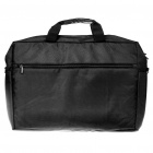 "Protective Nylon Bag with Shoulder Strap for 19"" Laptop Notebook - Black"