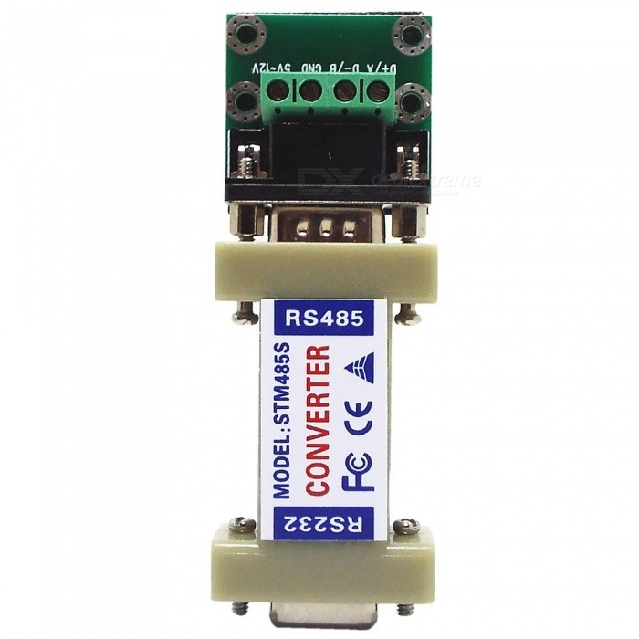 RS-232 to RS-485 Converter rs232 to rs485 converter with optical isolation passive interface protection