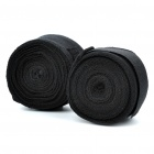 Taekwondo Adhesive Sports Bandage/Hand Wraps - Black (Pair/4M-Length)