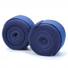 Taekwondo Adhesive Sports Bandage/Hand Wraps - Blue (Pair/4M-Length)