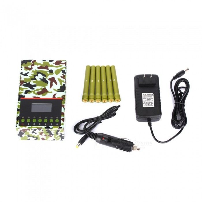 Cell phone blocker dealextreme | Plus Portable 6 Antennas Cell Phone Jammer Block 2g/3G/4G and LOJACK GPS WIFI Signals