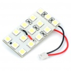 1.3W 12x5050 SMD LED 194LM 8000K White Car Reading/Dome/Combination Rear Lamp Light (DC 12V)