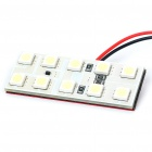 1.2W 10x5050 SMD LED 180LM 8000K White Car Reading/Dome/Combination Rear Lamp Light (DC 12V)