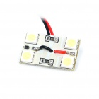 0.5W 4x5050 SMD LED 80LM 8000K White Car Reading/Dome/Combination Rear Lamp Light (DC 12V)