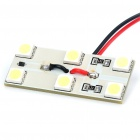 0.8W 6x5050 SMD LED 108LM 8000K White Car Reading/Dome/Combination Rear Lamp Light (DC 12V)