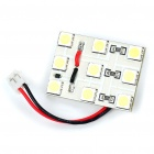 1W 9x5050 SMD LED 145LM 8000K White Car Reading/Dome/Combination Rear Lamp Light (DC 12V)