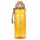 Traveling Daily Sports Water Bottle Cup - Transparent Yellow (800ml)