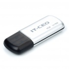 IT-CEO Mini USB 2.0 Flash/Jump Drive - Silver (4GB)