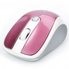 Genuine Rapoo 3100 2.4GHz Wireless 500/1000DPI USB Optical Mouse with Receiver - Pink (2 x AAA)
