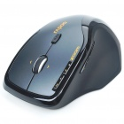 Genuine Rapoo 7600 2.4GHz Wireless 500/1000DPI USB Optical Mouse with Receiver - Black (1 x AA)