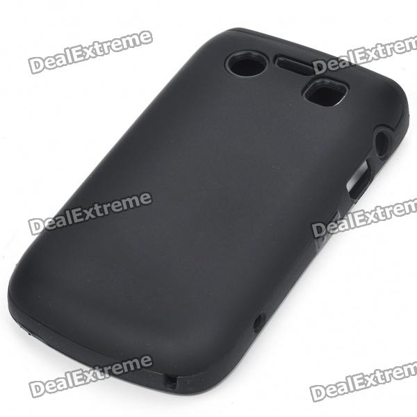 Protective Silicone Case for BlackBerry 9700/9020 - Black