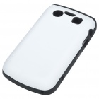 Protective Silicone Case for BlackBerry 9700/9020 - White + Black