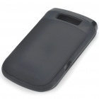 Protective Silicone Case for BlackBerry 9800 - Black