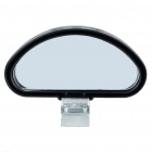 Universal Oval Upper Rearview Mirror for Car
