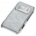 Protective Shining Electroplating Hard Back Case for Nokia N8 - Gray