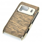 Protective Shining Electroplating Hard Back Case for Nokia N8 - Gold