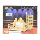 Woodcraft DIY Model 3D Puzzle Toys - Boxing Pen Container