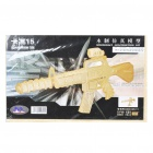 Woodcraft DIY Model 3D Puzzle Toys - Carbine 15