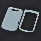 Protective PVC Back Case Cover for Blackberry 9800 - White