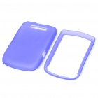Protective PVC Back Case Cover for Blackberry 9800 - Purple