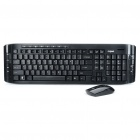 2.4GHz Wireless 103-Key Keyboard & Optical Mouse Combo with USB Receiver (1 x AA + 1 x AA)