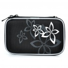 "Protective Hard Shockproof Bag Case for 2.5"" Hard Disk Drive - Black"