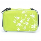 "Protective Hard Shockproof Bag Case for 2.5"" Hard Disk Drive - Green"