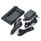 USB/AC Battery Dual Charging Dock Cradle + USB Cable + Car Charger for Dell Mini 5/Streak