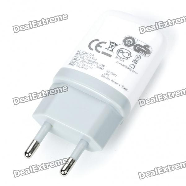 AC Power Adapter/Charger + USB Charging/Data Cable for HTC HD2/Desire HD/Desire/G5 - White