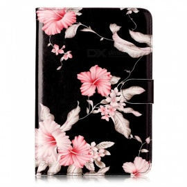 ESAMACT Rubber Oil Cover PU Leather Ultra Slim Fit Lightweight Smart Case for IPAD Mini4
