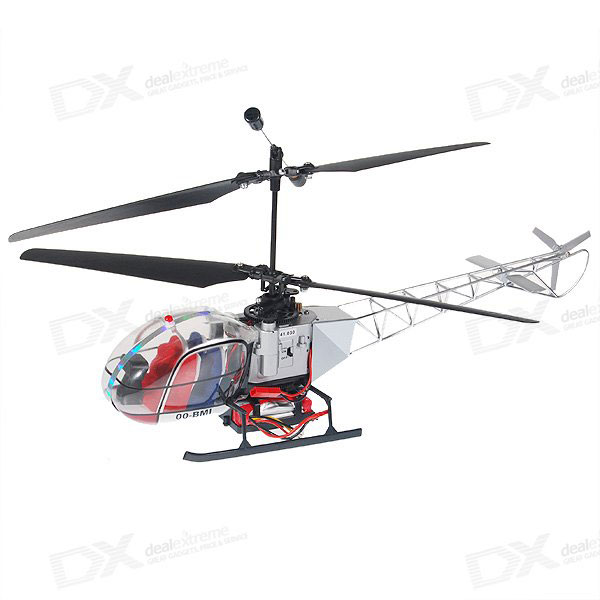 Mini Lama 4-CH R/C Helicopter RTF Set