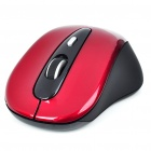 Genuine Rapoo 3000 2.4GHz Wireless 500/1000DPI USB Optical Mouse w/ Receiver - Red (2 x AAA)