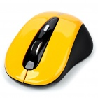 Genuine Rapoo 3000 2.4GHz Wireless 500/1000DPI USB Optical Mouse w/ Receiver - Yellow (2 x AAA)