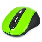 Genuine Rapoo 3000 2.4GHz Wireless 500/1000DPI USB Optical Mouse w/ Receiver - Green (2 x AAA)