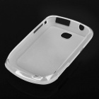 Protective PVC Case Cover for Samsung Galaxy Mini S5570 - Transparent White