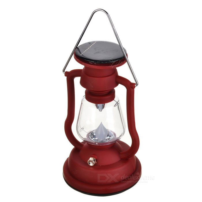 Solar Powered 1200mAh Rechargeable Lantern