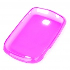 Protective PVC Case Cover for Samsung Galaxy Mini S5570 - Deep Pink