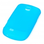 Protective PVC Case Cover for Samsung Galaxy Mini S5570 - Blue