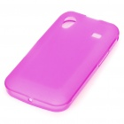 Protective PVC Case Cover for Samsung Galaxy Ace S5830 - Deep Pink
