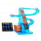 Solar Powered Roller Coaster Model Kit Educational Toy