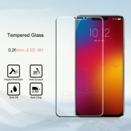 HD Clear Transparent 0.26mm Arc Edge Explosion-proof Tempered Glass Screen Protector Film For Lenovo Z5 Transparent/Tempered Glass