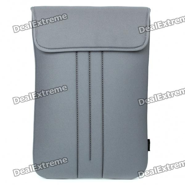 "Stylish Protective Soft Bag for 15"" Laptop Notebook - Grey"