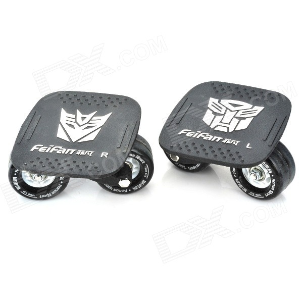 FeiFan Drift Skate with Wrench - Black (Pair)