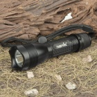 FANDYFIRE F101 5-Mode 250-Lumen White LED Flashlight w/ CREE R2 WC / Strap (1x18650/1x17670/2x16340)