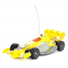 Cool R/C Model Racing Car - Yellow (3 x AA + 2 x AA)