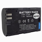 Replacement LP-E6 Compatible 7.4V 1500mAh Battery Pack for Canon EOS 5D MARK II/EOS 7D/EOS 60D