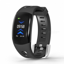 DOMINO MARVEL DM11 IP68 Waterproof Smart Watch Band Activity Tracker with Heart Rate Monitor for Kids Women Men - Black