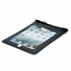Waterproof Bag Case + Earphone for iPad/iPad 2 - Black